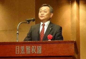 開催の挨拶 堀田社長