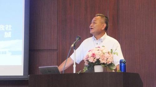 堀田社長の発表