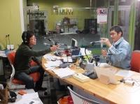 ラジオ番組「ザ・INAZOライブ」に出演いたしました