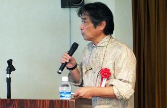 ~原 久夫氏 略歴~  1983年 広島大学大学院工学研究科博士課程後期終了,2004年 博士(工学)取得。1983年から現在まで琉球大学工学部環境建設工学科,理工学研究科の教員として地盤工学に関する教育と研究に従事する。沖縄総合事務局公共事業評価委員長など国,県などの各種委員も務める。