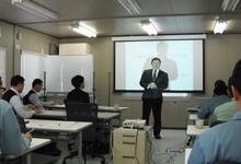 松下社長による開会のあいさつ