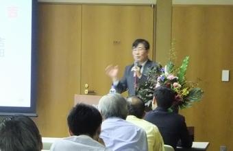 高森 先生による講演 「東日本大震災における住宅被害の現実と必要な対策」