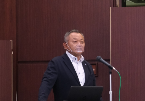 堀田社長による前期事業報告