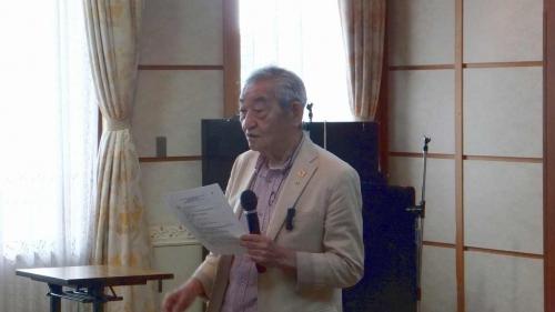 堀口先生による特別講演