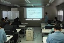 木戸工務部長 ラムサウンディング試験について発表中
