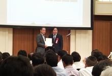 HySPEED工法 受注キャンペーン2012表彰式 最多採用社数部門 英重機工業株式会社(群馬県)