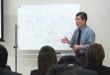 「柱状地盤改良工法の理論」「表層改良工法の理論」研修中